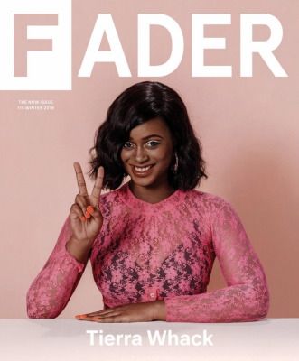 Tierra Whack, The Fader Cover